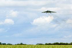 Avro Vulcan at RAF Waddington