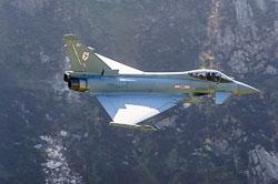 RAF Eurofighter Typhoon, Lowfly, Wales