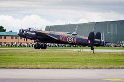 Lancaster Tour, RAF Waddington, 2014-08