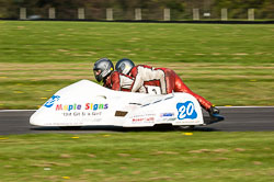Gordon Jones & Julie Jones, FSRA F350/Post Classic, NG, Cadwell Park 2011