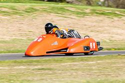 Tom Quaye & Thomas Quaye, Sidecar, NG, Cadwell Park, 2011
