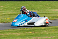 Terry Howse & Rebecca Howse, Sidecar, NG, Cadwell Park, 2011