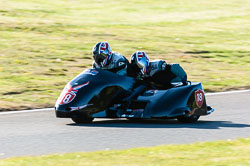 David Blackwood & Jayne Blackwood, Open Sidecar, Derby Phoenix, Cadwell Park, 2011