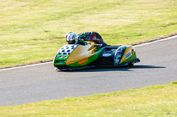Tim Reeves & Gregory Cluze, Open Sidecar, Derby Phoenix, Cadwell Park, 2011
