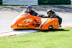 Open Sidecar, Derby Phoenix, Cadwell Park, May 2013