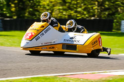 Gary Bryan & Jamie Winn, FSRA,  Derby Phoenix, Cadwell Park, May 2013