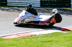 Peter Alton & Keith Brotherton, FSRA,  Derby Phoenix, Cadwell Park, May 2013