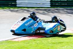 Alan Founds & Tom Peters, FSRA,  Derby Phoenix, Cadwell Park, May 2013