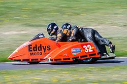 Doug Wright & Martin Hull, FSRA,  Derby Phoenix, Cadwell Park, May 2013