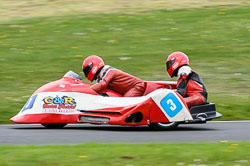 Alan Longshaw & John Longbottom, FSRA F350 / Post Classic, Cadwell Park, May 2013