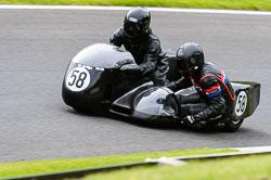 Jason Reily & Daniel Reily, Classic Sidecars, CRMC, Cadwell Park