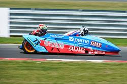Craig Chaplow & John Briggs, British F1 Sidecar, Snetterton, 2013-07