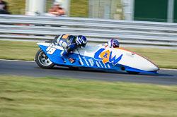 Ian Guy & Ben Ransley, British F1 Sidecar, Snetterton, 2013-07