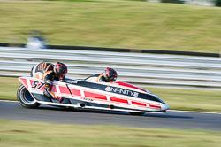 Tony Brown & Ryan Anderson, British F1 Sidecar, Snetterton, 2013-07