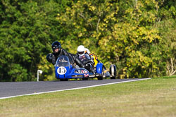 Paul Taylor & Graham LaceyVMCC, Cadwell Park, September 2013