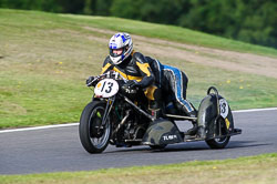 John Lorriman & Jim Steel, VMCC, Cadwell Park, September 2013