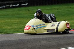 Marianne Walford & Claire Duplock , BMCRC, Cadwell Park, 2013-09