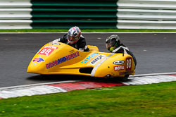 John Longmore & Susan Longmore, BMCRC, Cadwell Park, 2013-09