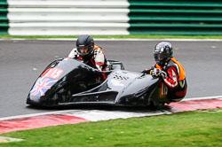 Richard Hackney & Andrew Mitchell, BMCRC, Cadwell Park, 2013-09