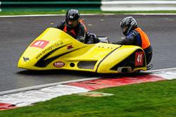 Alistar Hawkins & Lindsey Croft , BMCRC, Cadwell Park, 2013-09