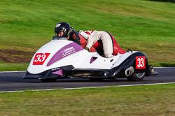 Phil Biggadyke & Hayley Capewell, Auto66, Cadwell Park, 2013-10