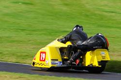 J Saunders & J Saunders, Auto66, Cadwell Park, 2013-10