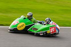 Matt Williams & Jevan Walmsey, Auto66, Cadwell Park, 2013-10