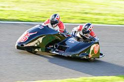 David Blackwood & Jayne Blackwood, Derby Phoenix, Cadwell Park, 2013-10