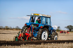 Ford at Collingham Ploughing Match, Swinderby, Lincolnshire, February 2018. Photo: Neil Houltby