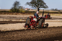 McCormick International B250 at Collingham Ploughing Match, Swinderby, Lincolnshire, February 2018. Photo: Neil Houltby