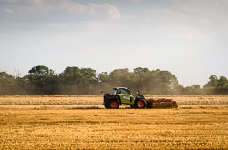 Class Scorpion Telehandler at Gathering the Harvest, Navenby Fens, Lincolnshire, August 2018. Photo: Neil Houltby