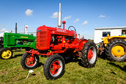 McCormick Deering Farmall at Flintham Show, Bingham, Notinghamshire, September 2018. Photo: Neil Houltby