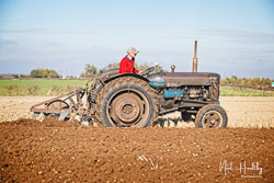 Fordson Major Diesel at Barton Upon Humber Ploughing Tournament, Worlaby Top, Lincolnshire, October 2018. Photo: Neil Houltby