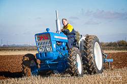 Ford Ploughmaster 75 at Barton Upon Humber Ploughing Tournament, Worlaby Top, Lincolnshire, October 2018. Photo: Neil Houltby