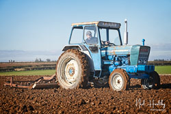 Ford 5000 at Barton Upon Humber Ploughing Tournament, Worlaby Top, Lincolnshire, October 2018. Photo: Neil Houltby