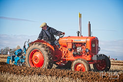 Nutfield 10/42 at Barton Upon Humber Ploughing Tournament, Worlaby Top, Lincolnshire, October 2018. Photo: Neil Houltby