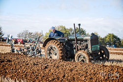 Fordson at Barton Upon Humber Ploughing Tournament, Worlaby Top, Lincolnshire, October 2018. Photo: Neil Houltby