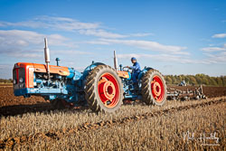 Doe Fordson Super Major at Barton Upon Humber Ploughing Tournament, Worlaby Top, Lincolnshire, October 2018. Photo: Neil Houltby
