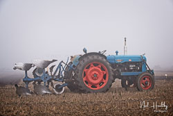 Fordson Power Major at Collingham Ploughing Match, South Scarle, Lincolnshire, February 2019. Photo: Neil Houltby
