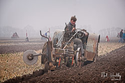 Fordson at Collingham Ploughing Match, South Scarle, Lincolnshire, February 2019. Photo: Neil Houltby