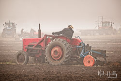 McCormick International B250 at Collingham Ploughing Match, South Scarle, Lincolnshire, February 2019. Photo: Neil Houltby