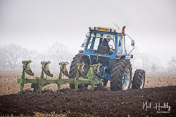 Ford TW-30 at Collingham Ploughing Match, South Scarle, Lincolnshire, February 2019. Photo: Neil Houltby