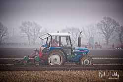 Ford 5030 at Collingham Ploughing Match, South Scarle, Lincolnshire, February 2019. Photo: Neil Houltby