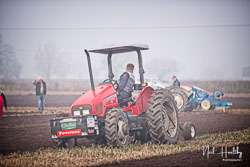 Massey Ferguson MF4215 at Collingham Ploughing Match, South Scarle, Lincolnshire, February 2019. Photo: Neil Houltby