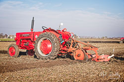 McCormick International B275 at Newborough Plouging Match, Newborough, Cambridgeshire, February 2019. Photo: Neil Houltby