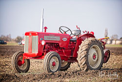 McCormick International B414 at Newborough Plouging Match, Newborough, Cambridgeshire, February 2019. Photo: Neil Houltby
