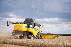 New Holland Elevation CX8080 at Gathering the Harvest, East Bridgeford, Nottinghamshire, August 2019. Photo: Neil Houltby