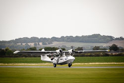 Consolidated PBY-5A Catalina at Battle of Britain, Duxford Air Show, Imperial War Museum Duxford, Cambridgeshire, September 2018. Photo: Neil Houltby