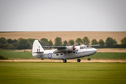 Percival Pembroke C1 at Battle of Britain, Duxford Air Show, Imperial War Museum Duxford, Cambridgeshire, September 2018. Photo: Neil Houltby