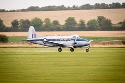 de Haviland DH104 Devon at Battle of Britain, Duxford Air Show, Imperial War Museum Duxford, Cambridgeshire, September 2018. Photo: Neil Houltby